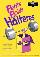 Affiche Petits poids et haltères - Compagnie La Pierre et le Tapis