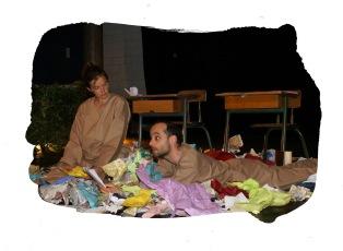 Silences de papiers - Compagnie la Pierre et le Tapis - Photo Luc Amimer