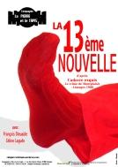 Affiche La 13ème nouvelle - Compagnie La Pierre et le Tapis