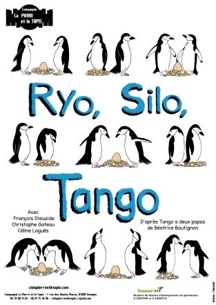 Affiche Ryo, Silo, Tango - Compagnie La Pierre et le Tapis