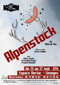 Affiche Alpenstock- Compagnie La Pierre et le Tapis