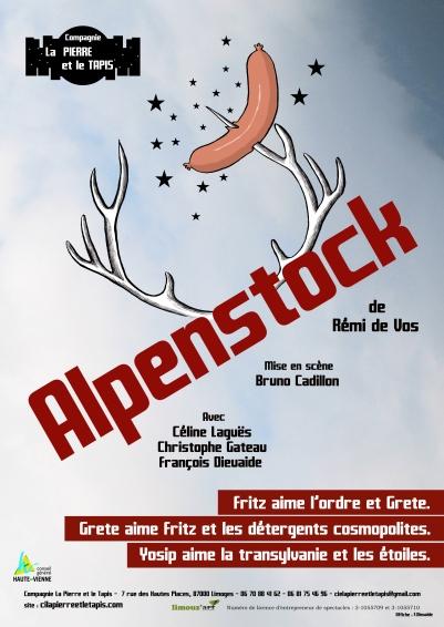 Affiche Alpenstock - Compagnie La Pierre et le Tapis