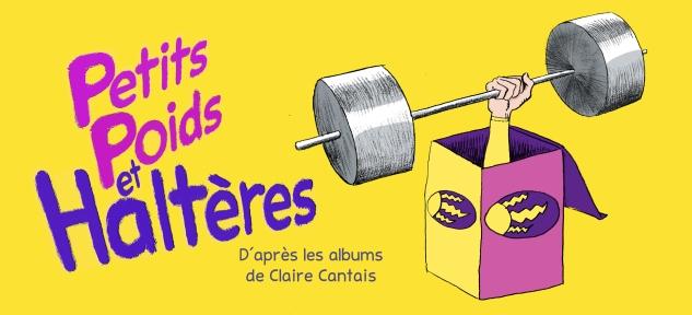 Petits poids et haltères - Compagnie La Pierre et le Tapis copie