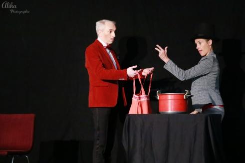 Je bouillonne avec toi - Compagnie La Pierre et le Tapis - Céline Laguës - Christophe Gateau - Photo Alika photographies