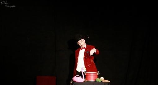 Je bouillonne avec toi - Compagnie La Pierre et le Tapis - Christophe Gateau - Photo Alika photographies
