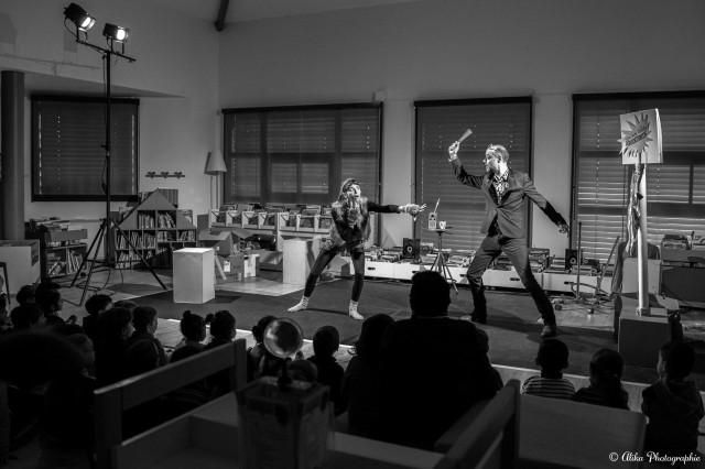 Purée de culotte ! - Compagnie La Pierre et le Tapis - Adapté de La culotte du loup - Photo Alika Photographie
